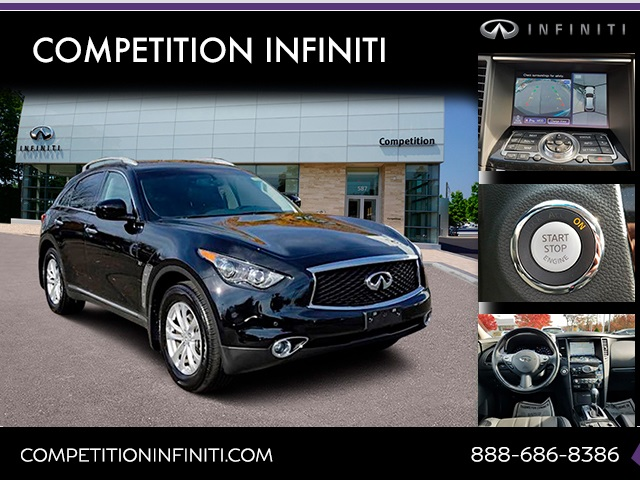 Certified Pre-Owned 2017 INFINITI QX70 Base
